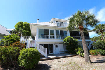 Back of Duplex from beach