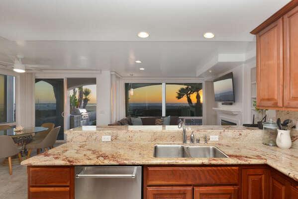 Fully Stocked Kitchen with Dishwasher - Entry Level