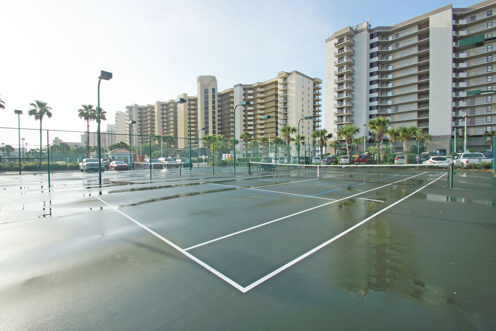 Picture of the Tennis Court.