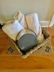 Welcome basket for your furry friends