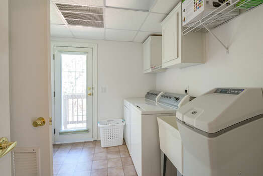 Laundry Room with a Water Softener