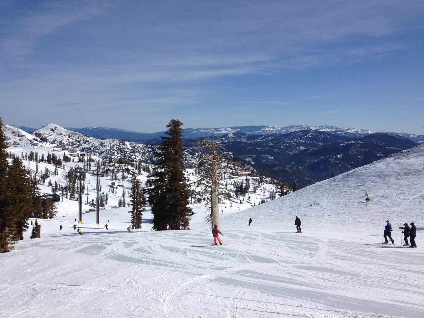 Squaw valley skiing