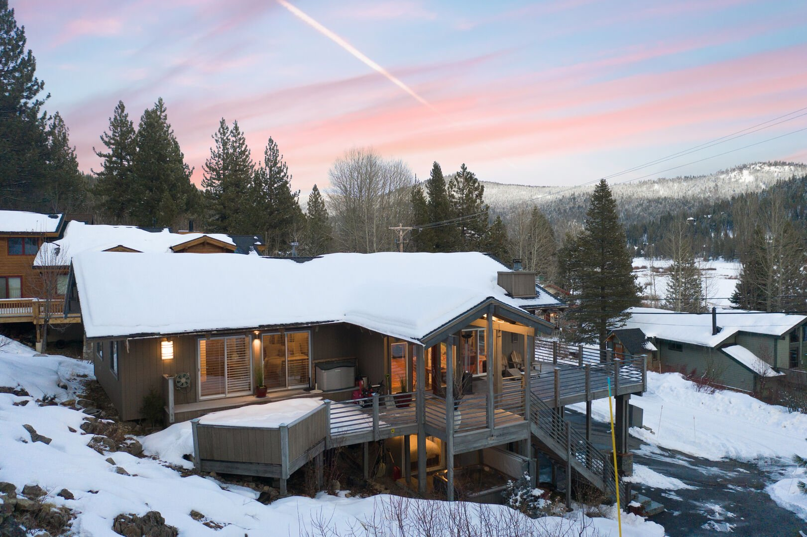 squaw valley rental outdoor shot