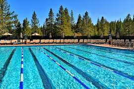 Tahoe Donner Clubhouse Pool