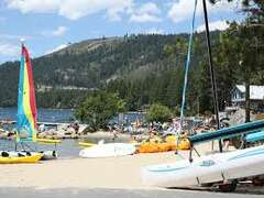 Donner Lake is a great place to have fun in Summer!