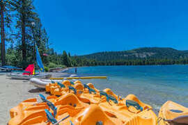 Donner Lake Offers Lots of Recreation Fun!