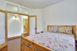 Bedroom 2 with French Doors