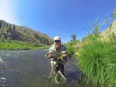 Fishing on the Truckee River