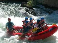 Rafting on the Truckee River