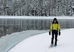 Snowshoeing in Our Winter Wonderland