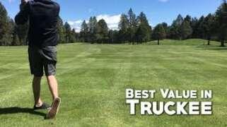 Golfing in Truckee