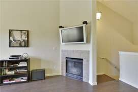 Entertainment center and Gas Fireplace