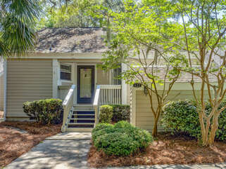 Welcome to 632 Wedgewood Villa with a private setting with golf course views