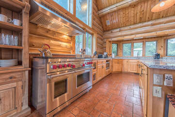 Wolf stove top & ovens - your family chef's dream!