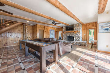 Lower Level Game Room - Complete with Great Family Fun!