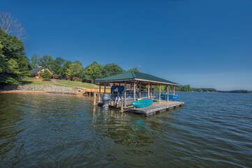 Boat House complete with Kayak, Paddle board & swim mat