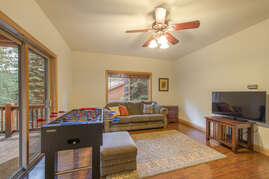 Family Room with Entertainment