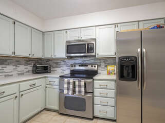 Beautiful new stainless appliances