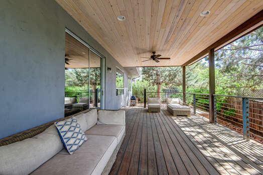 Outdoor Deck and BBQ
