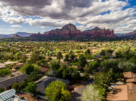 Views of Red Rocks from Home