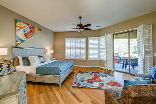 Spacious Master Bedroom with a King Bed, 55