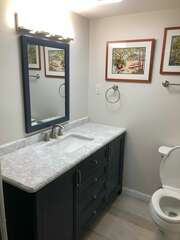 Newly remodled bathroom - Aug. 2021