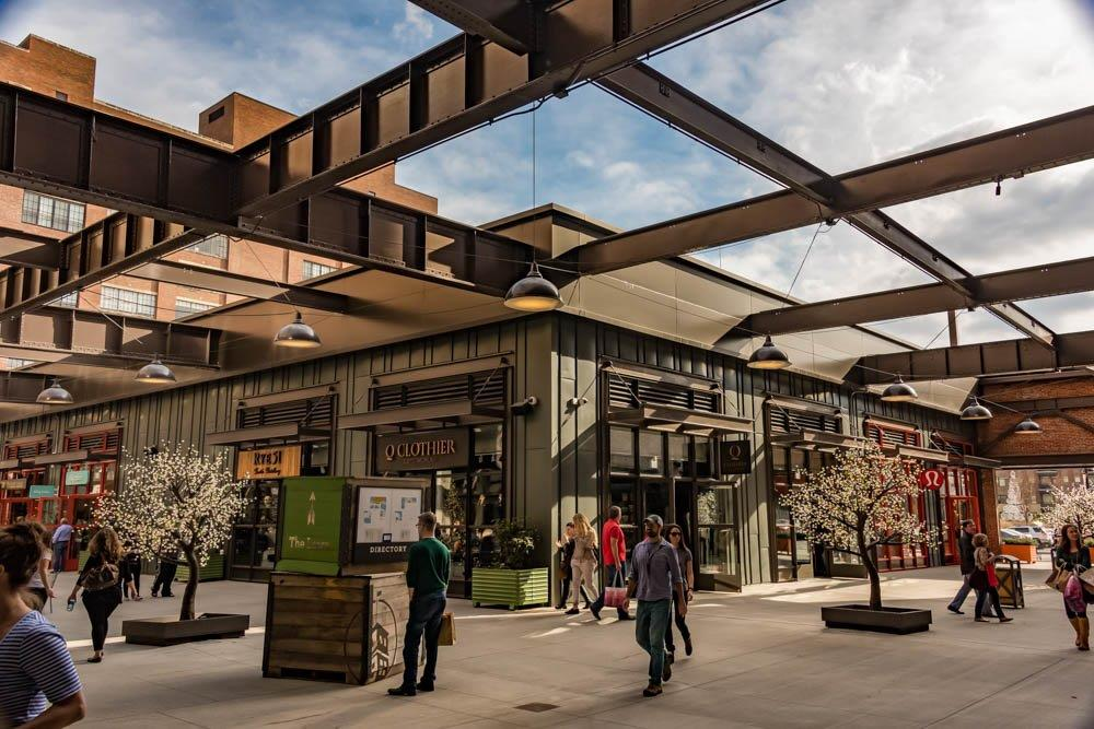Enjoy Shopping and Dining at the Ponce City Market.