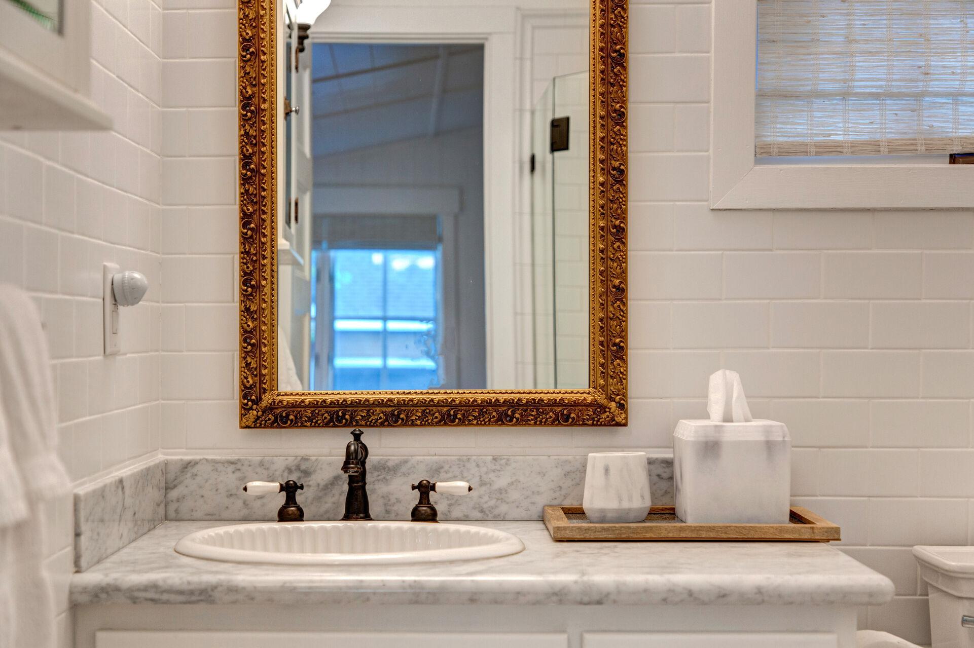 Granite Counter Vanity