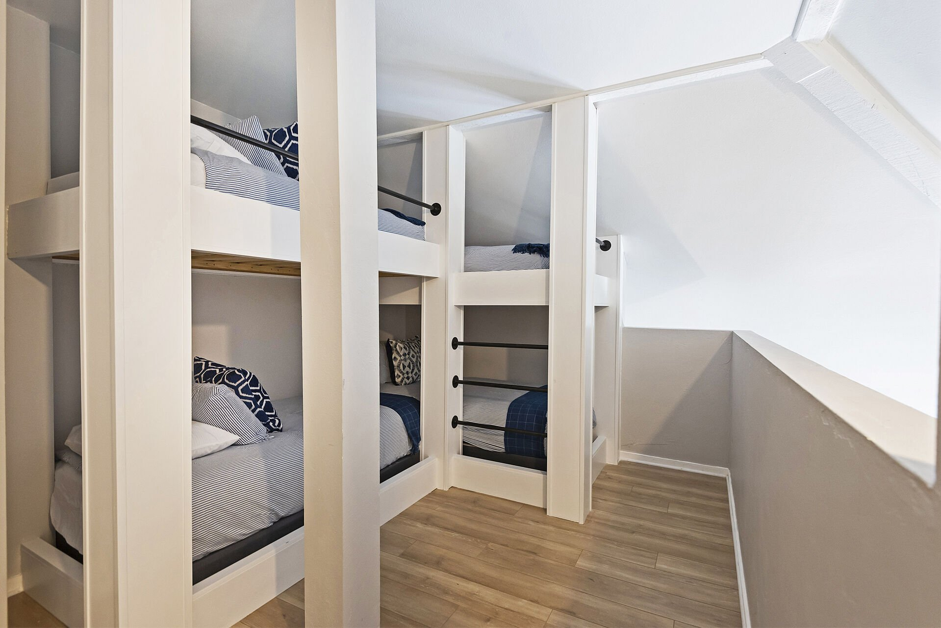 Loft Bunk Room with Access to the Full Shared Bath on the Main Level