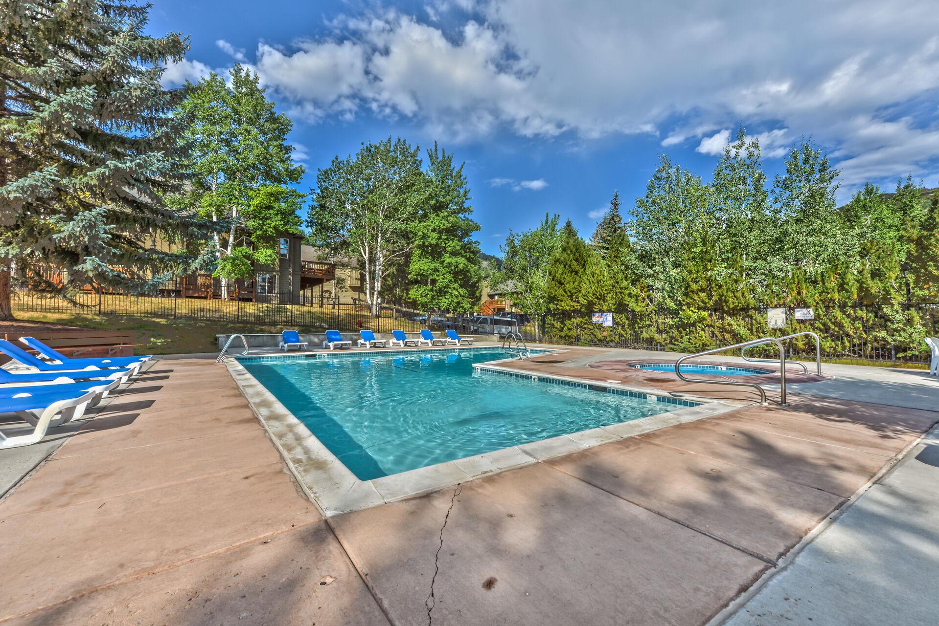 Seasonal Pool and Year-round Hot Tub