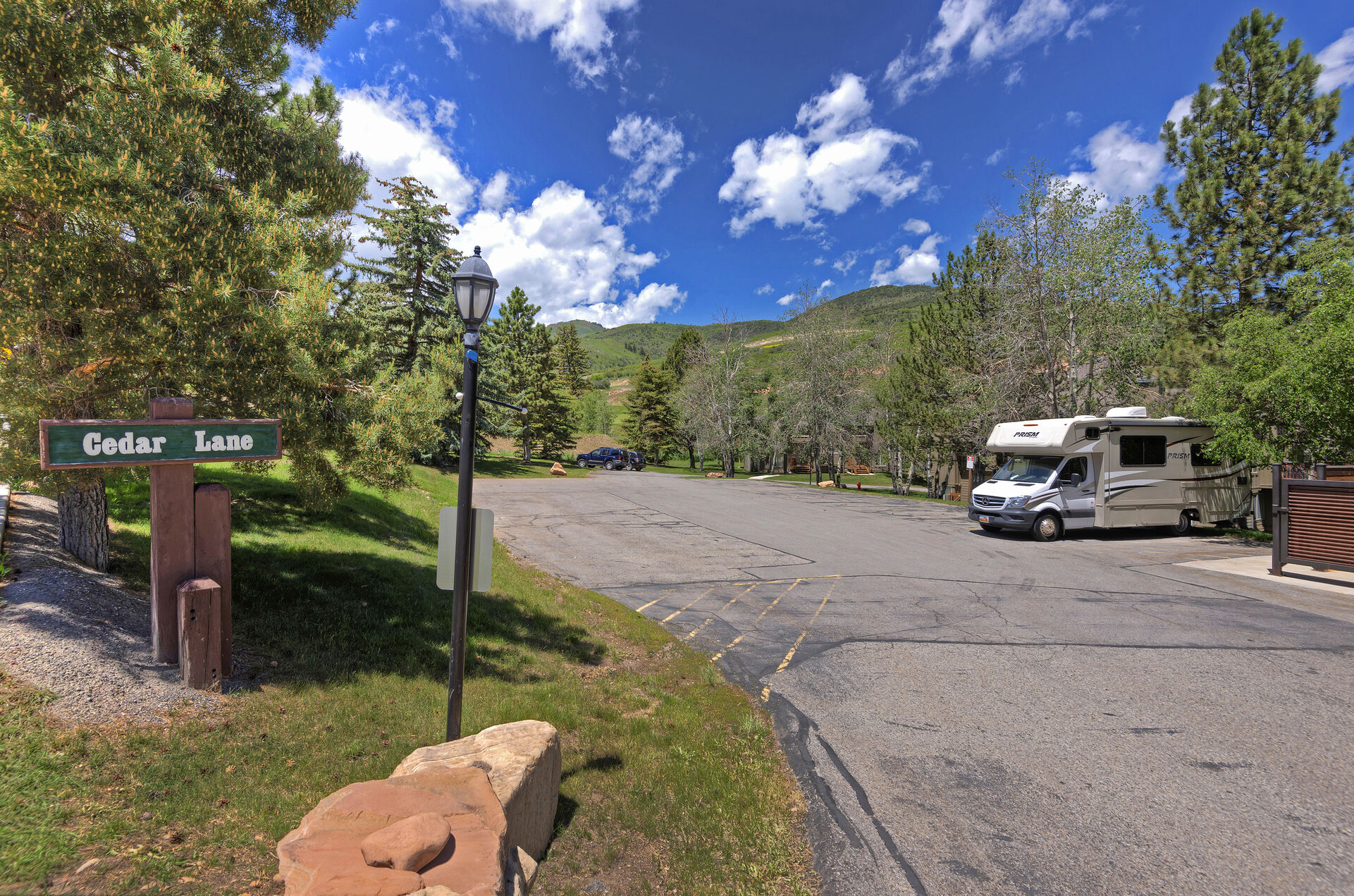 Cedar Lane Parking Lot - Unassigned Parking for Two Vehicles