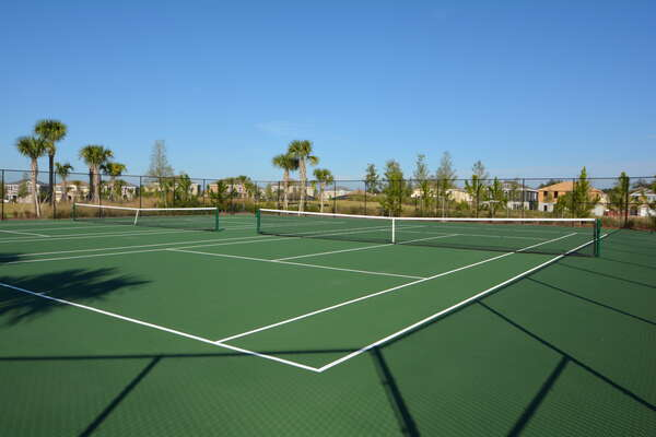 On-site facilities:- Tennis courts