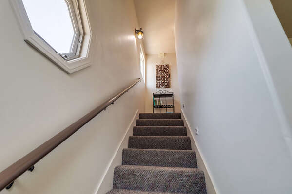 Stairwell to Lower Level Bedrooms