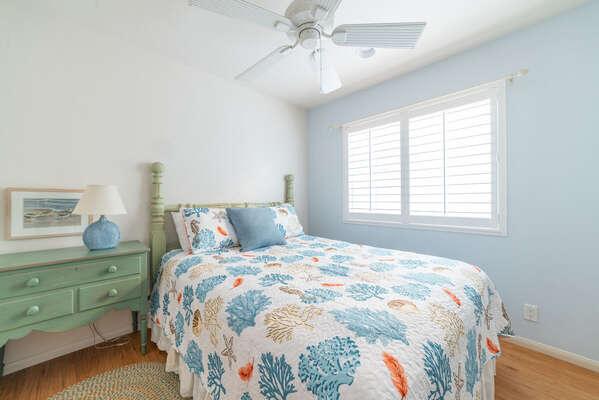 Second Floor Guest Bedroom with Queen Bed