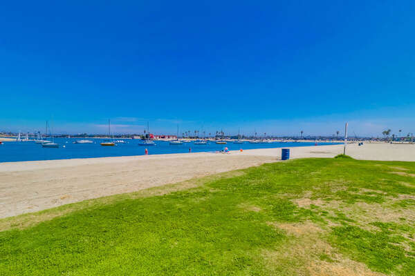 Mission Bay bayfront