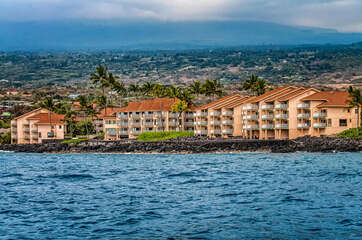 Ocean view of our kona hawaii vacation rentals