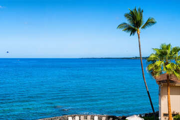 Ocean view from our kona hawaii vacation rentals