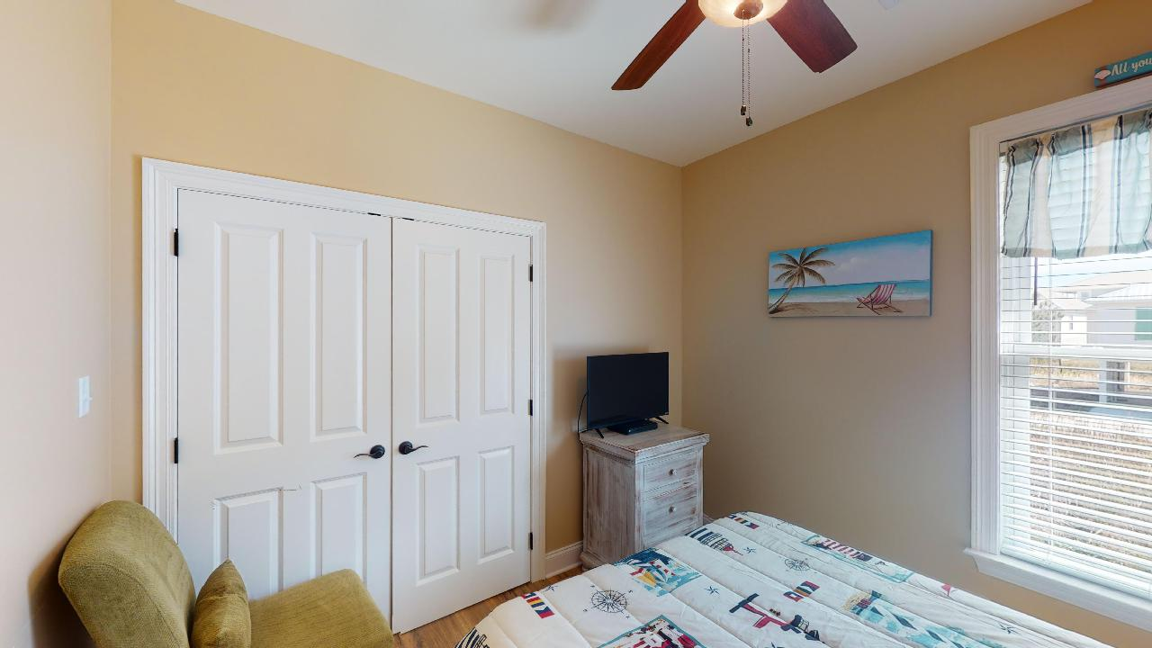 Image of Large Closet in Bedroom.