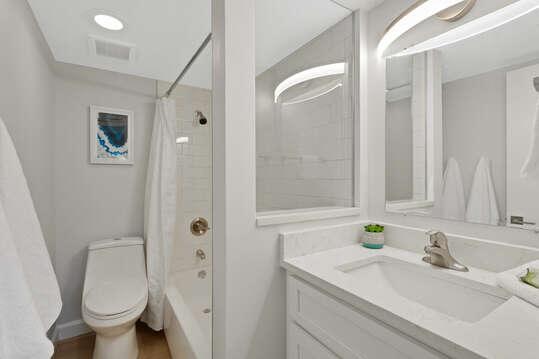 Brand new bathroom.