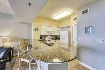 Kitchen Counter/bar area