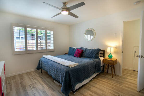 Master Bedroom with King and Twin Trundle