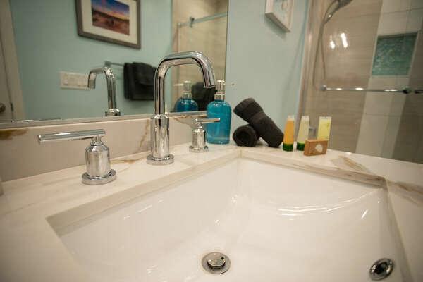 Guest Bathroom Details - Second Floor