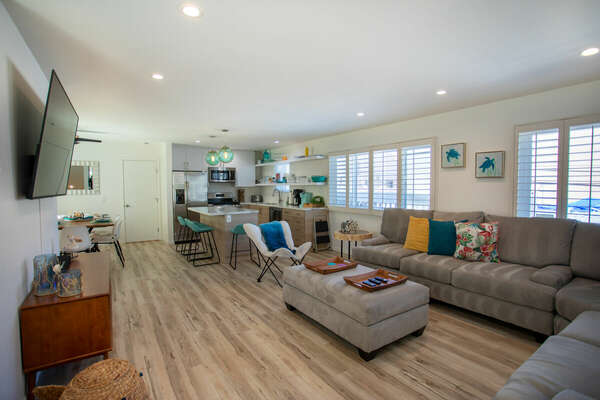 Open Concept Layout - Second Floor