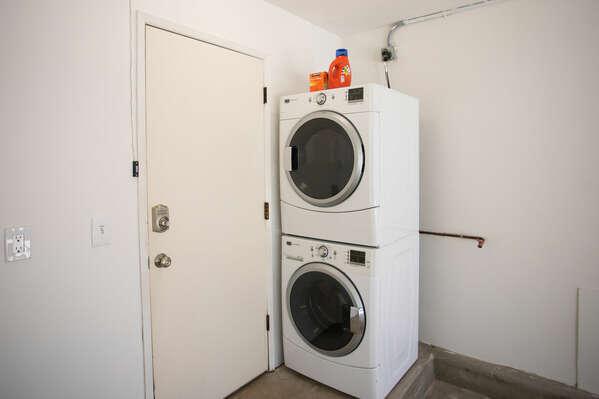 Washer/Dryer - Garage