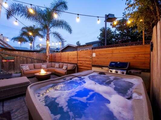 Jacuzzi, BBQ, Outdoor Living