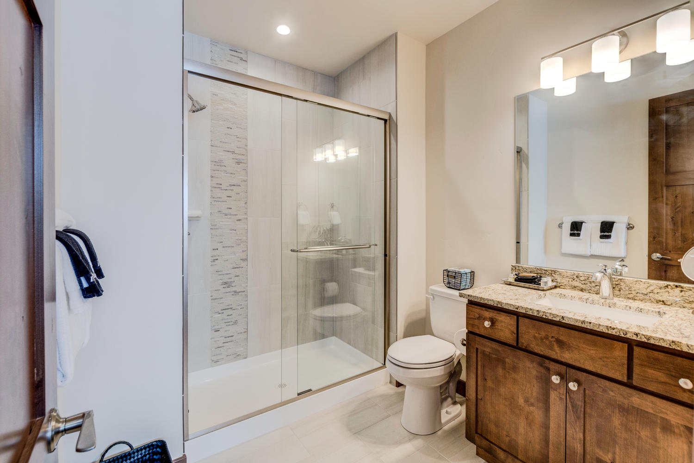Master suit bathroom