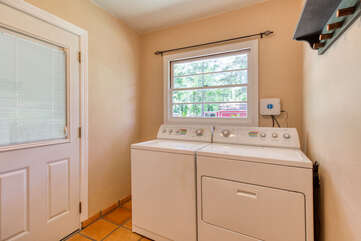 Washer and dryer make your family stay easy