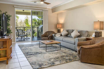 Beautifully decorated and comfortable furnishings
