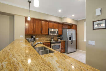 Fully updated and equipped kitchen