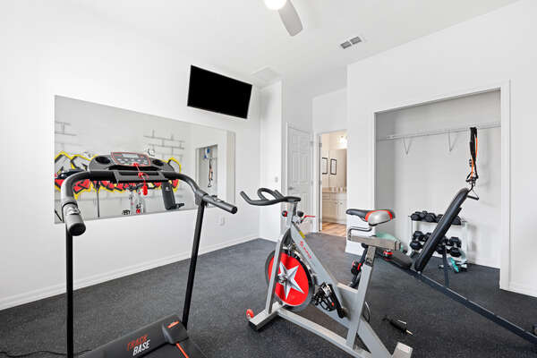 Don't miss a workout with you home gym